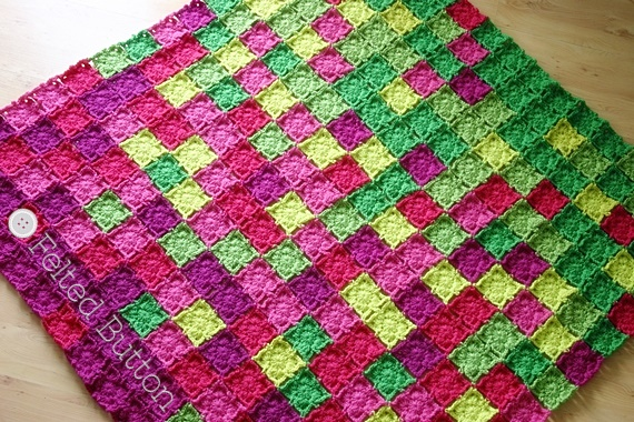 Image result for temperature blanket crochet